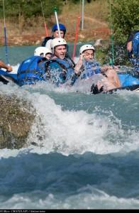 Rafting dans l'Ain