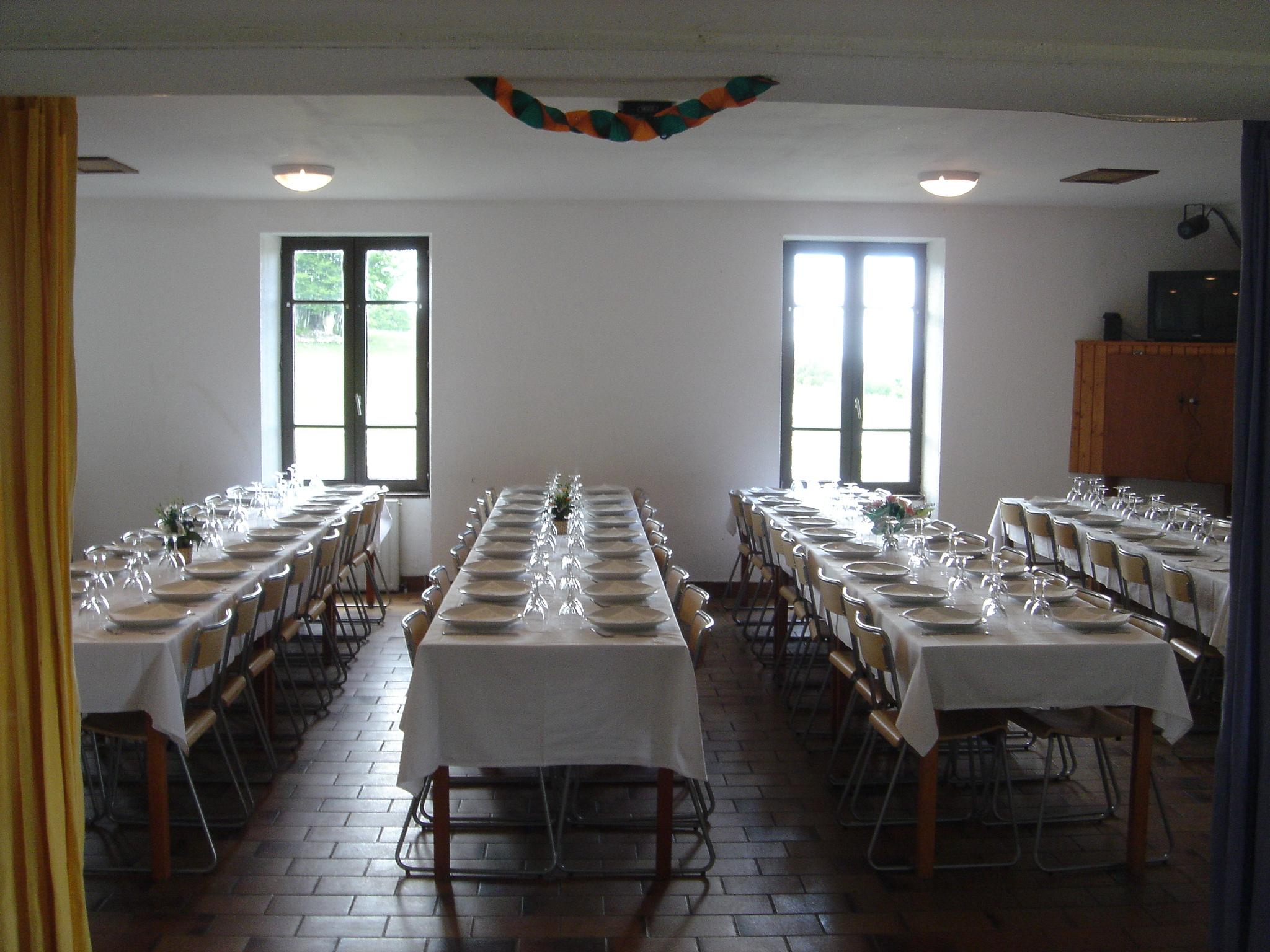 Salle à manger du Chalet Guèroz