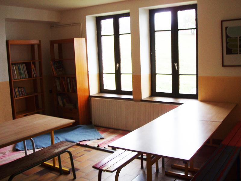Salle détente du Chalet Guèroz