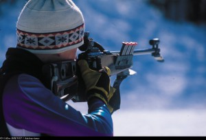 Biathlon sur les Plans d'Hotonnes
